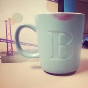 My work mug.